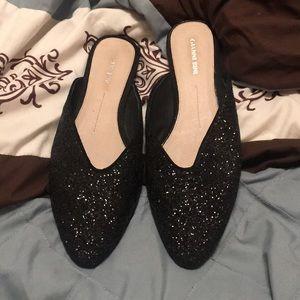 Lady's slip on dress shoes